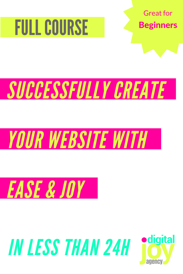 Anca Stefania Iorgulescu Digital Joy Agency create Your Website with Ease & Joy